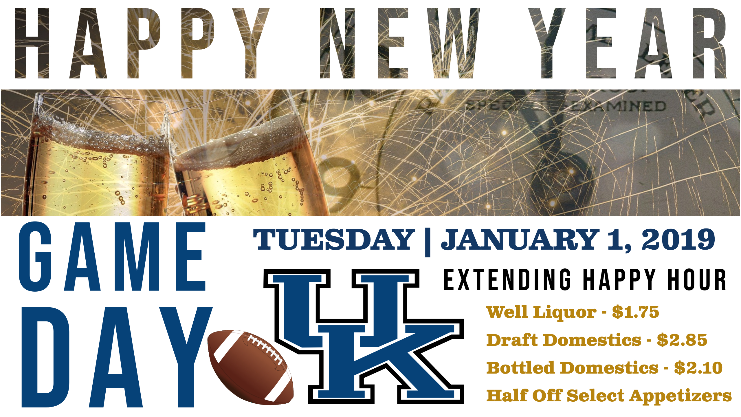 "HAPPY NEW YEAR – ""GAME DAY"""